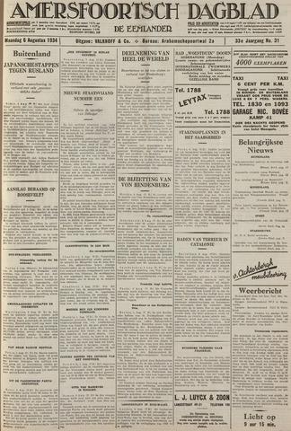 Amersfoortsch Dagblad / De Eemlander 1934-08-06