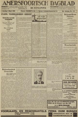 Amersfoortsch Dagblad / De Eemlander 1932-03-05