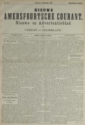 Nieuwe Amersfoortsche Courant 1890-09-06