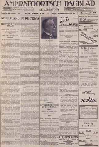 Amersfoortsch Dagblad / De Eemlander 1935-01-28