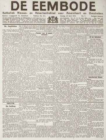 De Eembode 1916-04-25