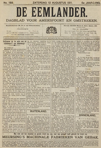 De Eemlander 1911-08-12