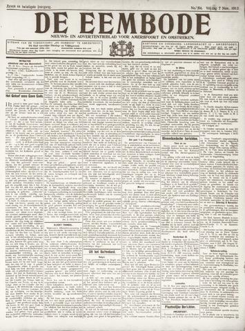 De Eembode 1913-11-07