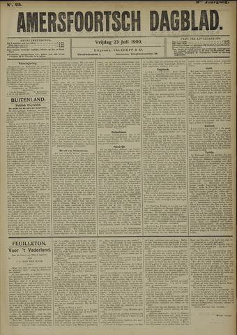 Amersfoortsch Dagblad 1909-07-23