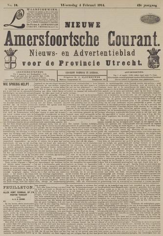 Nieuwe Amersfoortsche Courant 1914-02-04