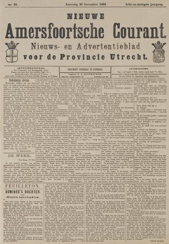 Nieuwe Amersfoortsche Courant 1909-11-20
