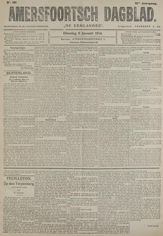 Amersfoortsch Dagblad / De Eemlander 1914-01-06