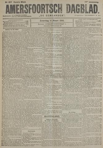 Amersfoortsch Dagblad / De Eemlander 1916-03-11