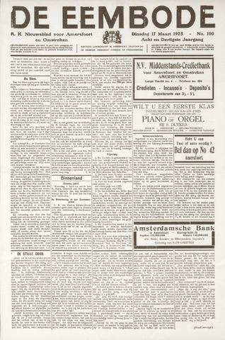 De Eembode 1925-03-17