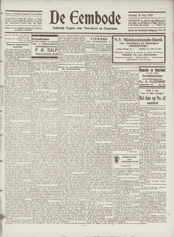 De Eembode 1933-08-29