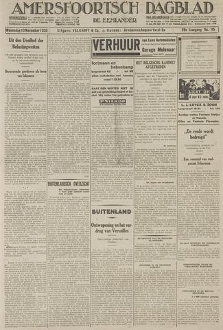 Amersfoortsch Dagblad / De Eemlander 1930-11-12