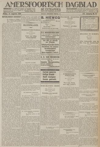 Amersfoortsch Dagblad / De Eemlander 1928-08-24