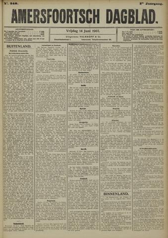 Amersfoortsch Dagblad 1907-06-14