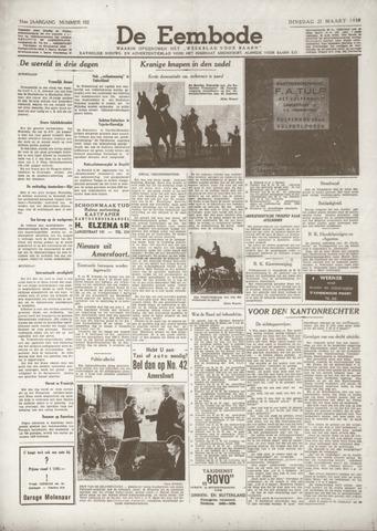 De Eembode 1938-03-22