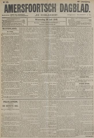 Amersfoortsch Dagblad / De Eemlander 1916-07-26