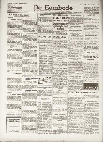 De Eembode 1937-06-22