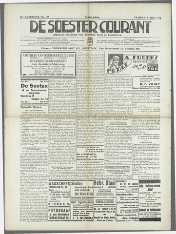 Soester Courant 1934-07-06