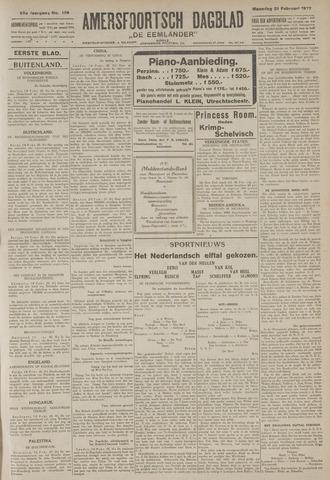 Amersfoortsch Dagblad / De Eemlander 1927-02-21