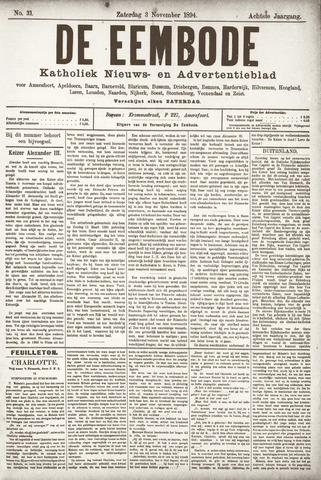 De Eembode 1894-11-03