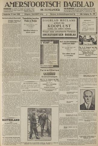 Amersfoortsch Dagblad / De Eemlander 1930-06-12