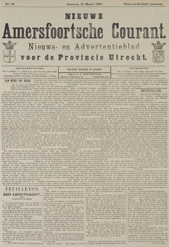 Nieuwe Amersfoortsche Courant 1903-03-21
