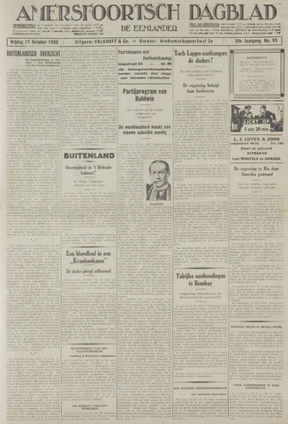 Amersfoortsch Dagblad / De Eemlander 1930-10-17