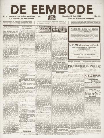 De Eembode 1927-10-11