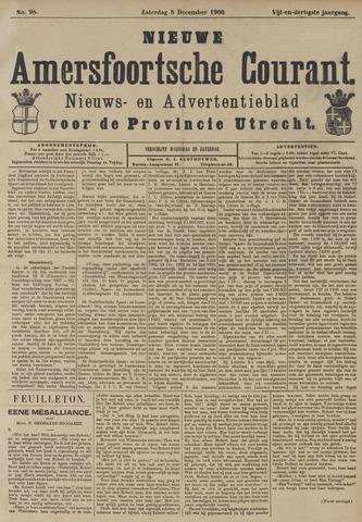Nieuwe Amersfoortsche Courant 1906-12-08