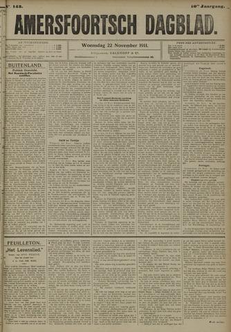 Amersfoortsch Dagblad 1911-11-22
