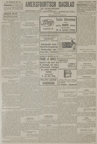 Amersfoortsch Dagblad / De Eemlander 1925-11-06