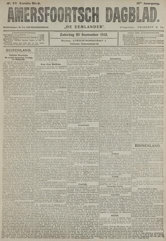 Amersfoortsch Dagblad / De Eemlander 1913-09-20