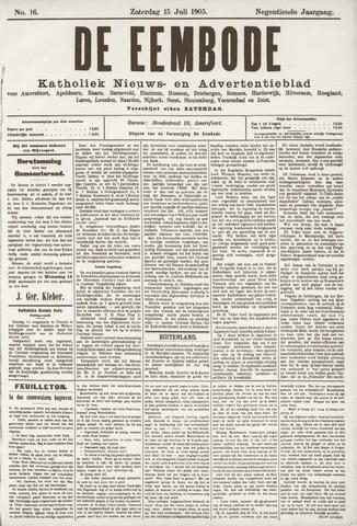 De Eembode 1905-07-15