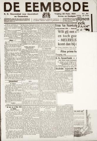 De Eembode 1924-02-22
