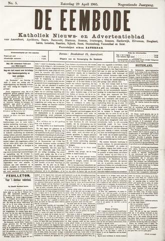 De Eembode 1905-04-29