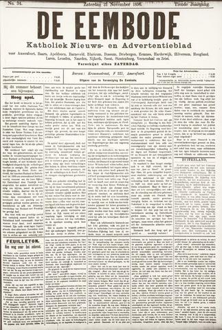 De Eembode 1896-11-21