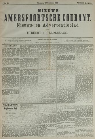 Nieuwe Amersfoortsche Courant 1889-11-20
