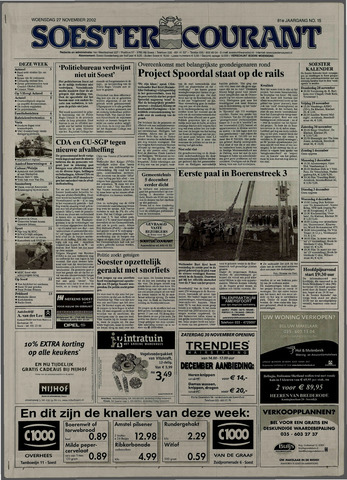 Soester Courant 2002-11-27
