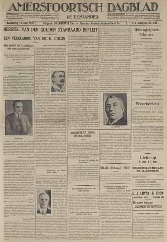 Amersfoortsch Dagblad / De Eemlander 1933-06-15