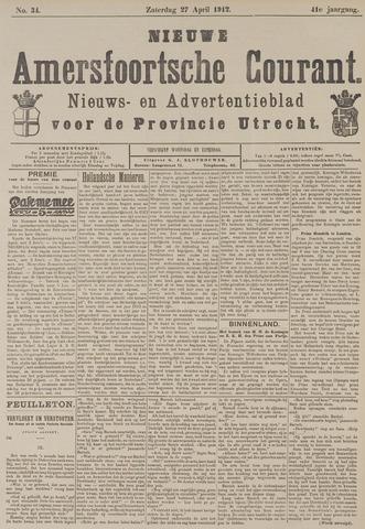 Nieuwe Amersfoortsche Courant 1912-04-27