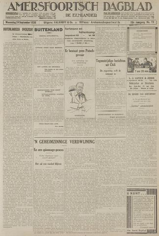 Amersfoortsch Dagblad / De Eemlander 1930-09-24