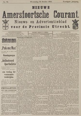 Nieuwe Amersfoortsche Courant 1911-10-25