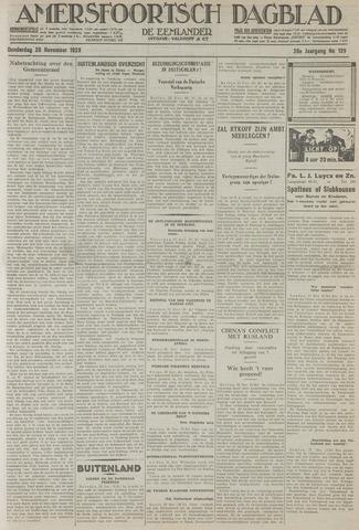 Amersfoortsch Dagblad / De Eemlander 1929-11-28