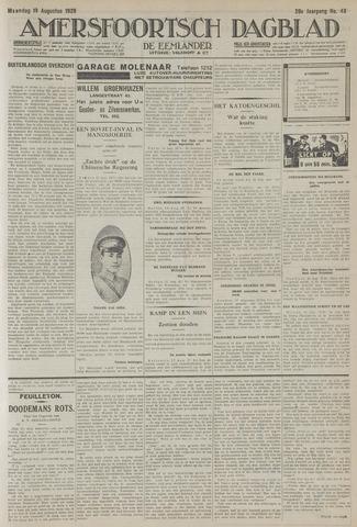 Amersfoortsch Dagblad / De Eemlander 1929-08-19