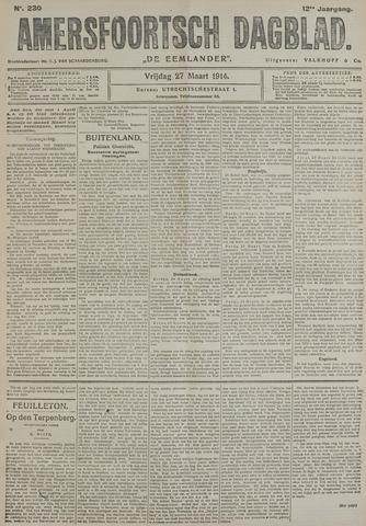Amersfoortsch Dagblad / De Eemlander 1914-03-27