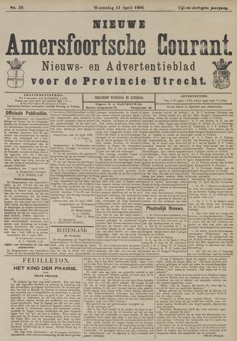 Nieuwe Amersfoortsche Courant 1906-04-11