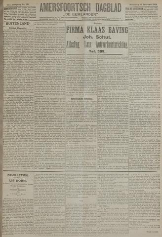 Amersfoortsch Dagblad / De Eemlander 1919-02-10