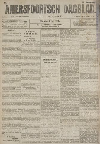 Amersfoortsch Dagblad / De Eemlander 1913-07-01