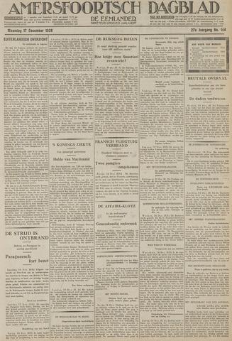Amersfoortsch Dagblad / De Eemlander 1928-12-17