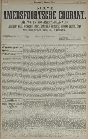 Nieuwe Amersfoortsche Courant 1884-01-26