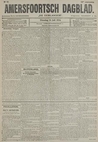 Amersfoortsch Dagblad / De Eemlander 1914-07-14